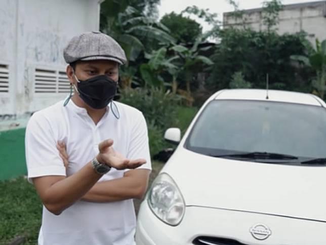 Arief Muhammad Lelang Mobil Nissan March dari Followers BU Laku Rp500 Juta