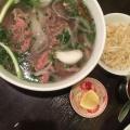 牛肉フォー - 実際訪問したユーザーが直接撮影して投稿した百人町ベトナム料理ベトナムちゃんの写真のメニュー情報