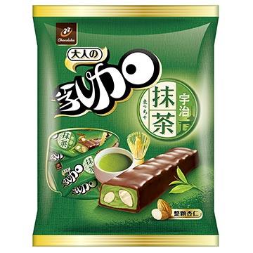 77乳加巧克力-宇治抹茶杏仁(147g)