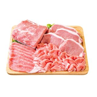 〈米国産〉石田豚ロース ・切身・生姜焼用・スライス・しゃぶしゃぶ用 100g当り