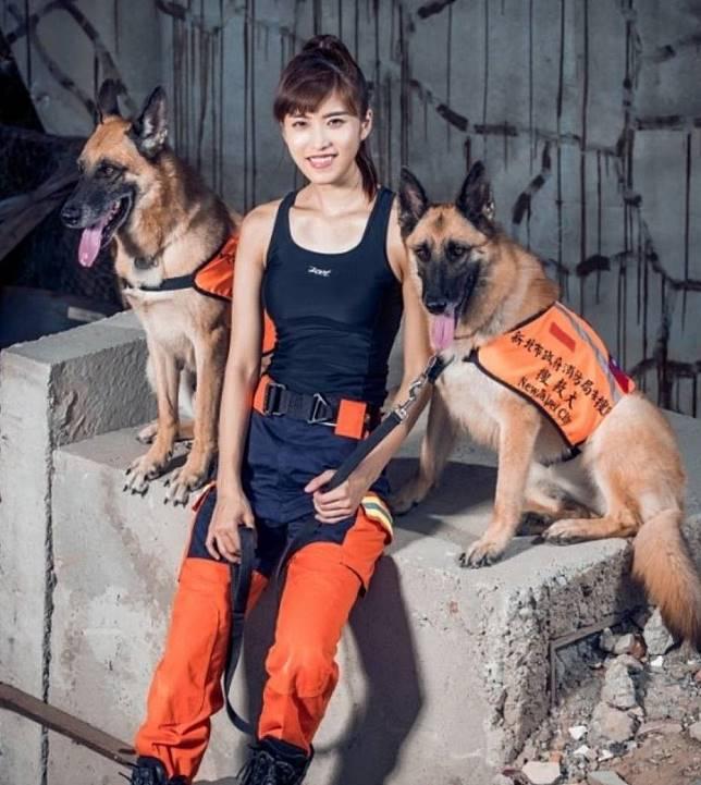 新北兩搜救犬退役歡迎認養