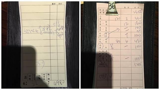 有網友發文控訴,知名餐廳把來消費的日本客人當成盤仔。(圖/翻攝自爆怨公社)