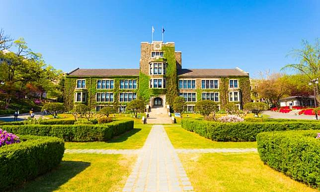 Salah Satu Gedung Universitas Ternama Korea Selatan, Yonsei University