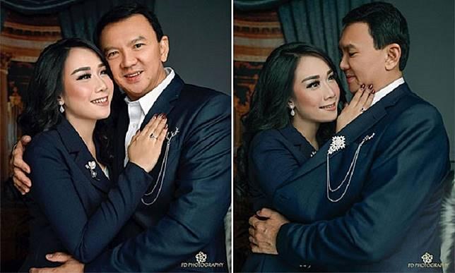 Ahok BTP dan Puput Pamer Kemesraan, Sahabat Sebut Veronica Sudah Move On