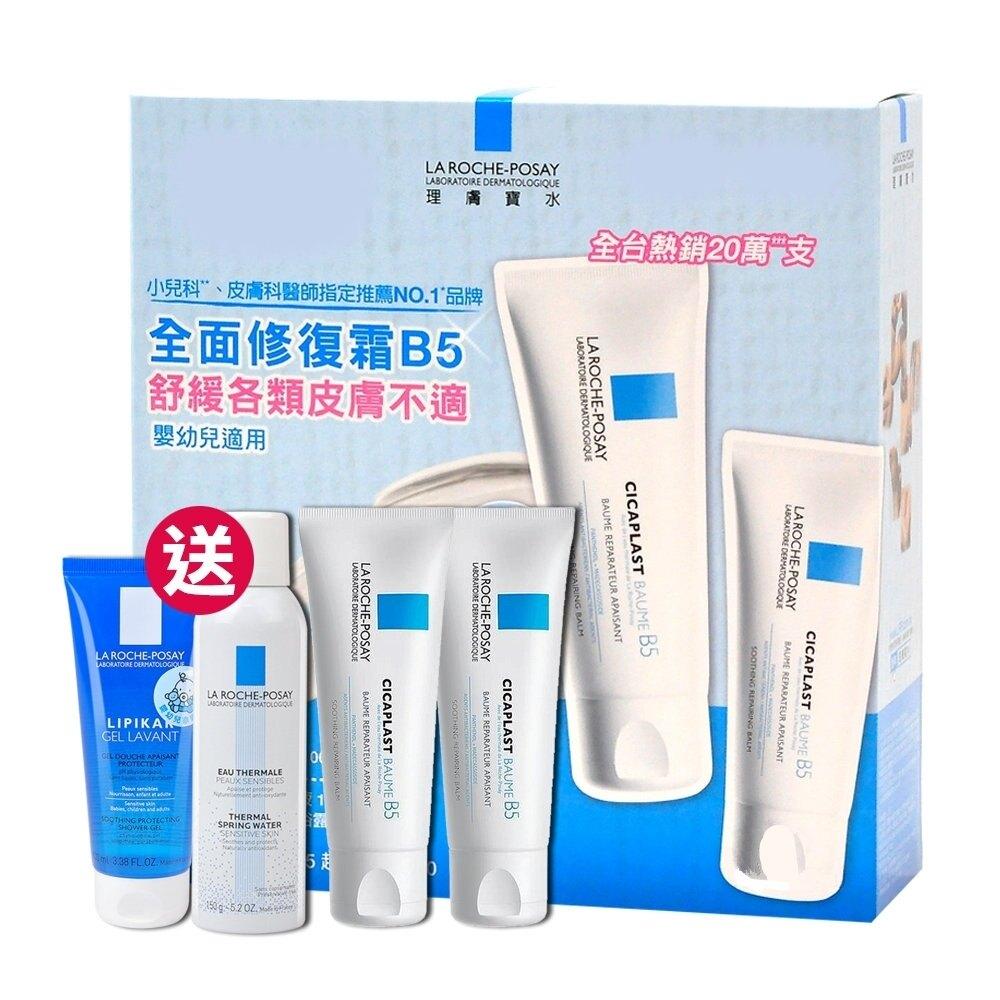 理膚寶水 全面修復霜 100ml 2入組 「送 溫泉舒緩噴液+親膚舒敏沐浴露」