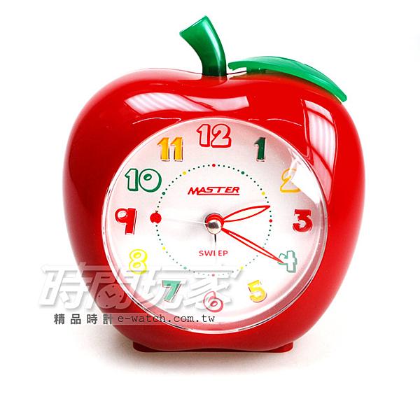 蘋果鬧鐘n超靜音連續秒針n台灣製造nLED強光數字面版n高音質和弦音樂n4分鐘貪睡+燈光n音樂鬧鐘