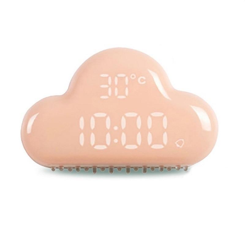 二代云朵鐘尺寸資料:材 質:面罩PC 其它ABS產品淨重:約110g產品毛重:約400g輸 入:DC5V 1A產品尺寸:約122mm×79mm×35mm