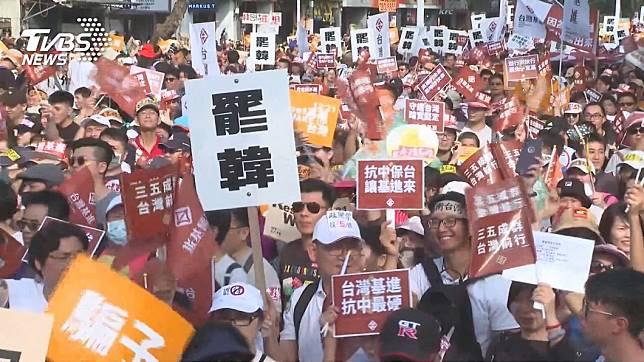 高雄市長韓國瑜面臨罷免危機。(圖/TVBS資料畫面)