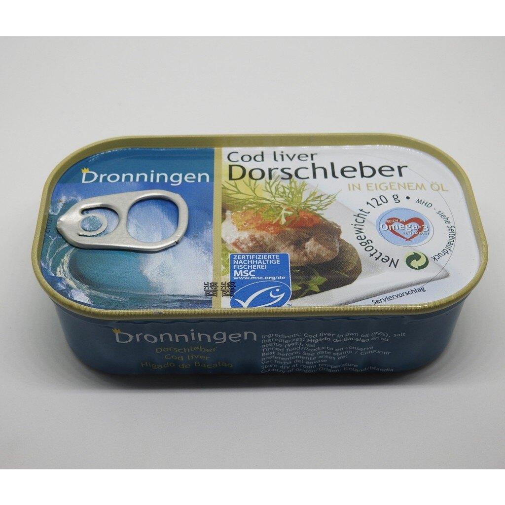 丹麥(頑)鱈魚肝罐頭(內容物120G/固形物70G)