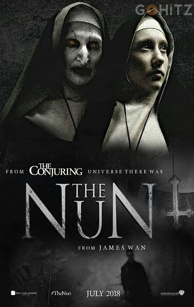 Hasil gambar untuk The Nun (2018) poster