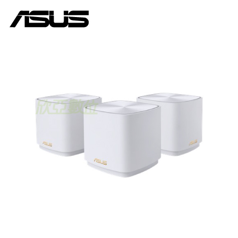 •消除 WiFi 訊號死角 — 網狀Mesh WiFi 系統與獨特天線配置可為住家的每個角落帶來強大的 WiFi 訊號,以提供 1800Mbps 的總體無線傳輸速度。 •全新Mesh系統 – 輕鬆架構