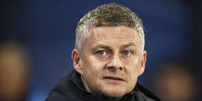 Pelatih Manchester United, Ole Gunnar Solskjaer. (c) AP Photo