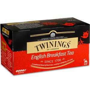 【Twinings唐寧茶】英倫早餐(2g*25包)X3入