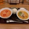 担々H&Hセット - 実際訪問したユーザーが直接撮影して投稿した西新宿中華料理粥餐庁 新宿京王モール店の写真のメニュー情報