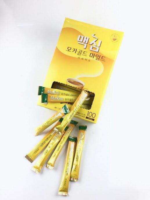 韓國超人氣咖啡【Maxim】摩卡咖啡、原味咖啡、白金咖啡-20入、100入 小甜甜