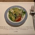 サラダセット - 実際訪問したユーザーが直接撮影して投稿した新宿洋食NIKKO KANAYA HOTEL CRAFT GRILLの写真のメニュー情報