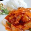 甘酢酢豚 - 実際訪問したユーザーが直接撮影して投稿した新宿点心・飲茶上海小籠包厨房 阿杏 本店の写真のメニュー情報