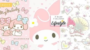 喜歡粉紅色一定喜歡過她~超人氣美樂蒂桌布放送!粉絲們能忍住手嗎?