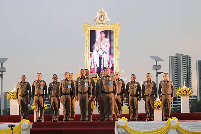งานพระราชทานเลี้ยงอาหารแก่ข้าราชการตำรวจ