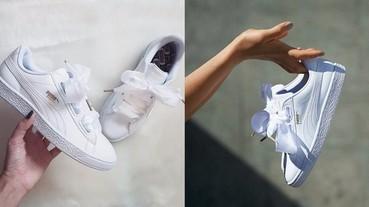 絲絨大熱!Puma 再推 Satin 蝴蝶結運動鞋,全新配色更具華麗感!
