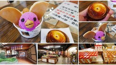 宜蘭伴手禮 R.Den 亞典蛋糕密碼館 半熟乳酪塔+小鴨冰淇淋~來免費觀光工場吃甜點