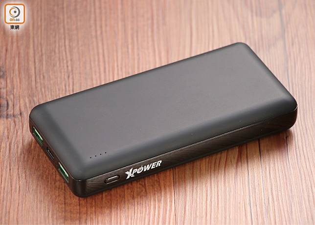 XPower新推出的PD20,提供2個USB-A及1個USB-C插口。(張錦昌攝)