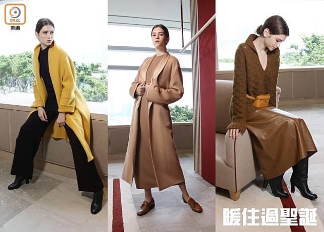 Loro Piana以往設計多採用Earth Tone、杏色或淺淡色調等中性設計;今個秋冬品牌罕有地打破這傳統框框,在系列注入大量鮮艷色調。(盧展程攝)