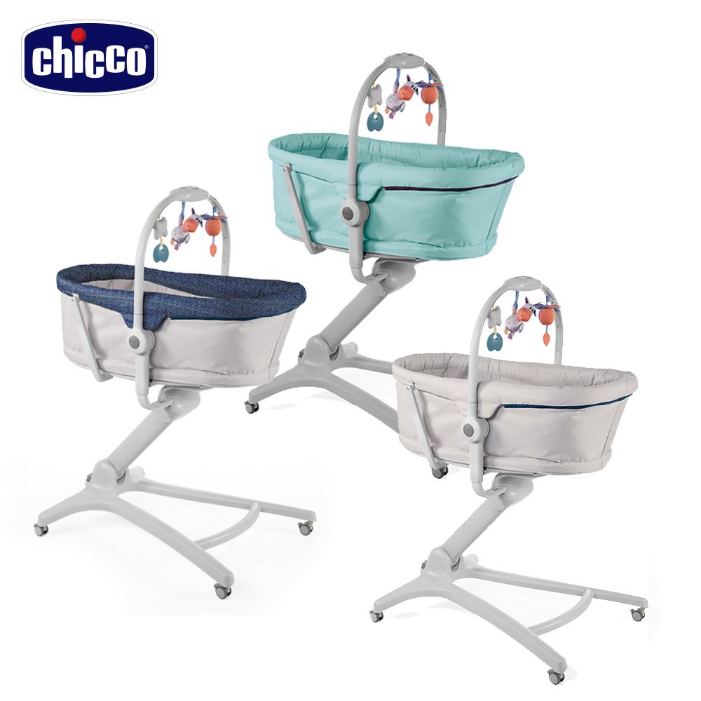 chicco-Baby Hug多功能成長安撫嬰兒床-3色