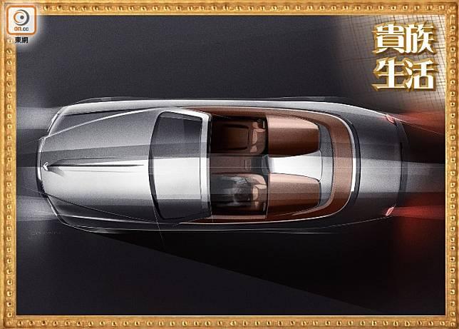 勞斯萊斯(Rolls-Royce)推出全球限量僅50輛的Dawn Silver Bullet Collection。(互聯網)