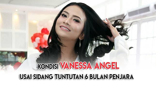 Kondisi Vanessa Angel Usai Sidang Tuntutan 6 Bulan Penjara