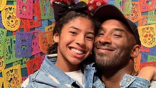 Kobe Bryant dan putrinya, Gianna Bryant
