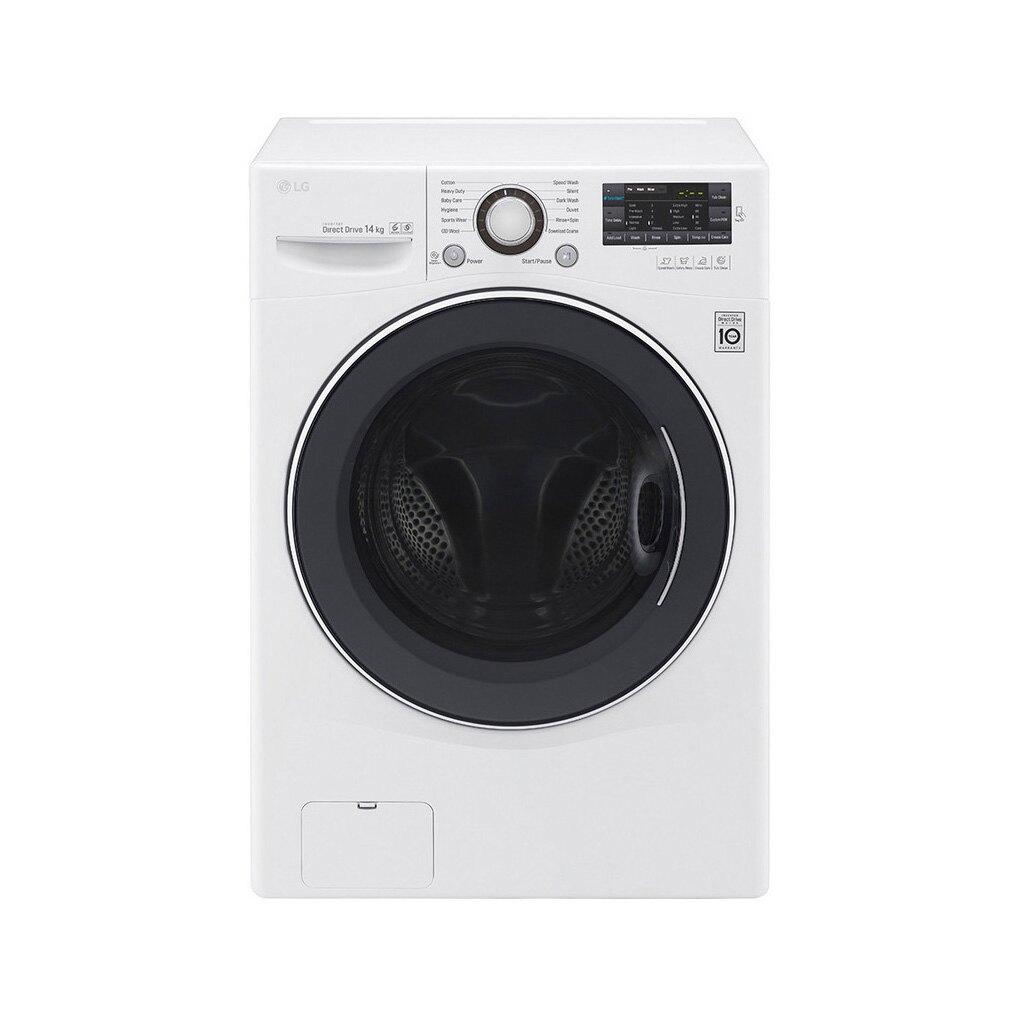 LG 14公斤 6-MOTION DD洗脫 滾筒洗衣機 F2514NTGW 【送標準安裝】