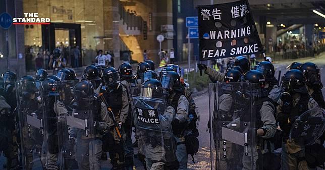 ตำรวจฮ่องกงย้ำ จะไม่ใช้กำลังกับกลุ่มผู้ชุมนุม หากไม่เป็นฝ่ายถูกโจมตีก่อน