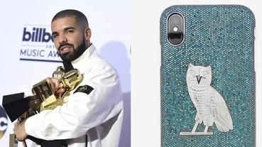 【J個稀好貨】上千顆藍鑽石鑲好鑲滿!Drake 狠砸 1200 萬台幣訂製自創品牌 iPhone 手機殼