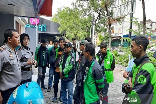 Polresta Surakarta lakukan pembinaan pengemudi ojek online