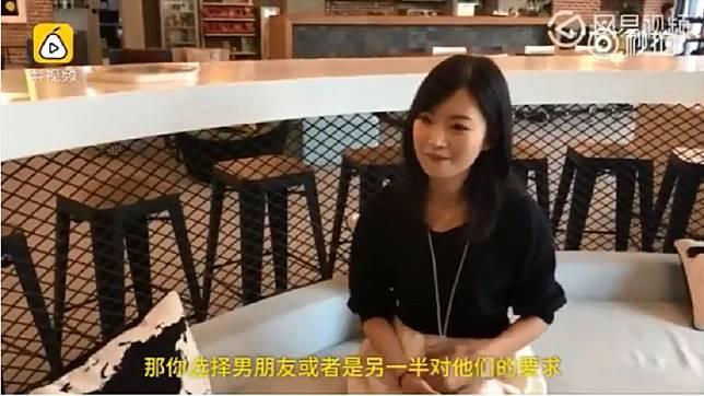 一名畢業於廈門大學碩士的30歲正妹,提到自己參加相親60次,但都沒遇到心目中的理想對象。(圖/翻攝自梨視頻)