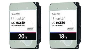 20TB 硬碟時代來臨,WD 將於 2020 上半年推出 18TB CMR 與 20TB SMR 企業級硬碟產品
