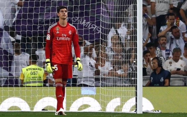 Courtois Akui Tertekan Jadi Kiper Real Madrid