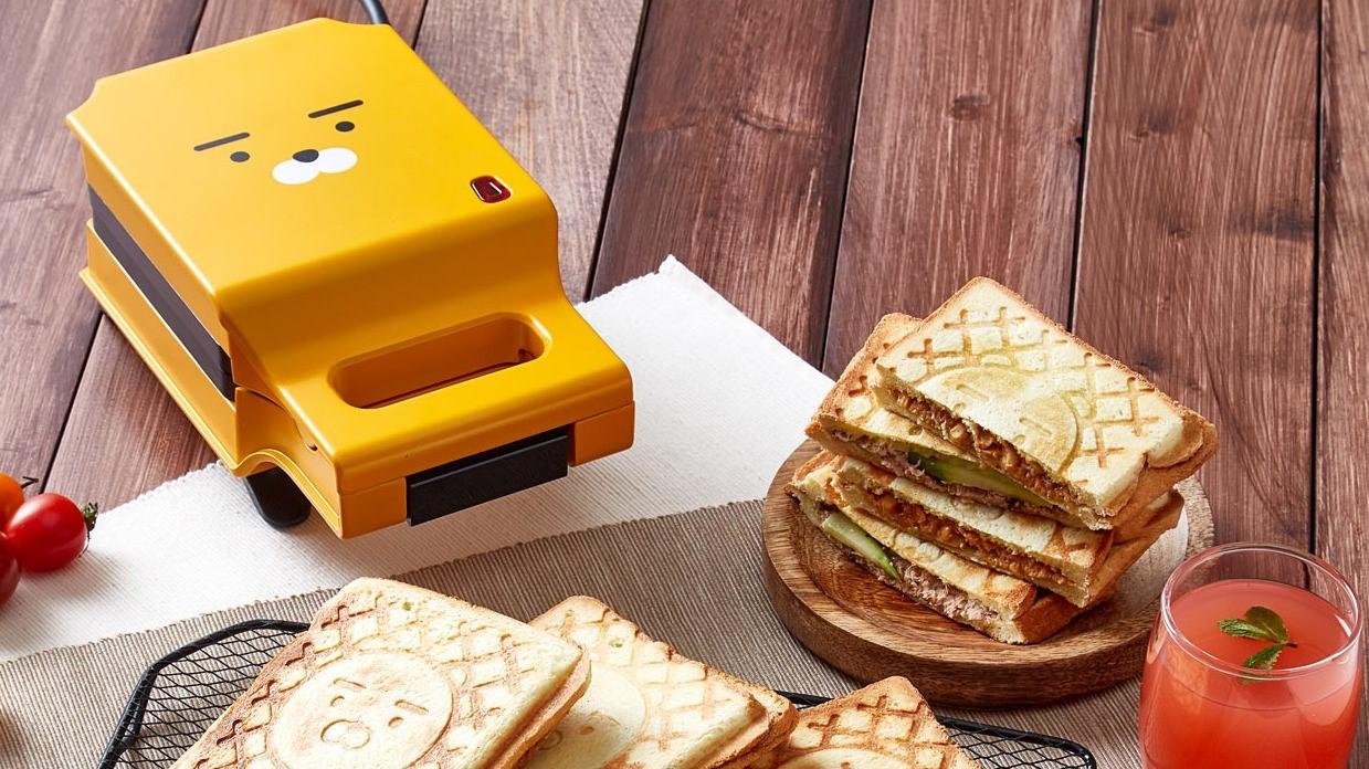 全新超生火周邊!用「萊恩熱壓吐司機」做出最療癒的早餐吧!