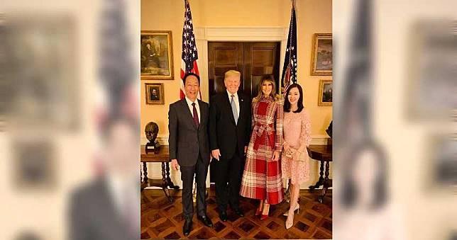 郭台銘與川普會面聚焦中美貿易及美國經濟