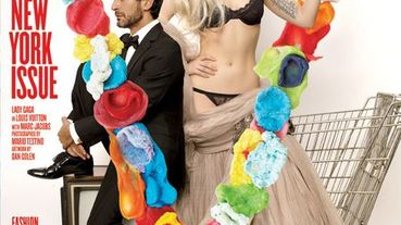 Lady Gaga與Marc Jacobs攜手登V Magazine封面