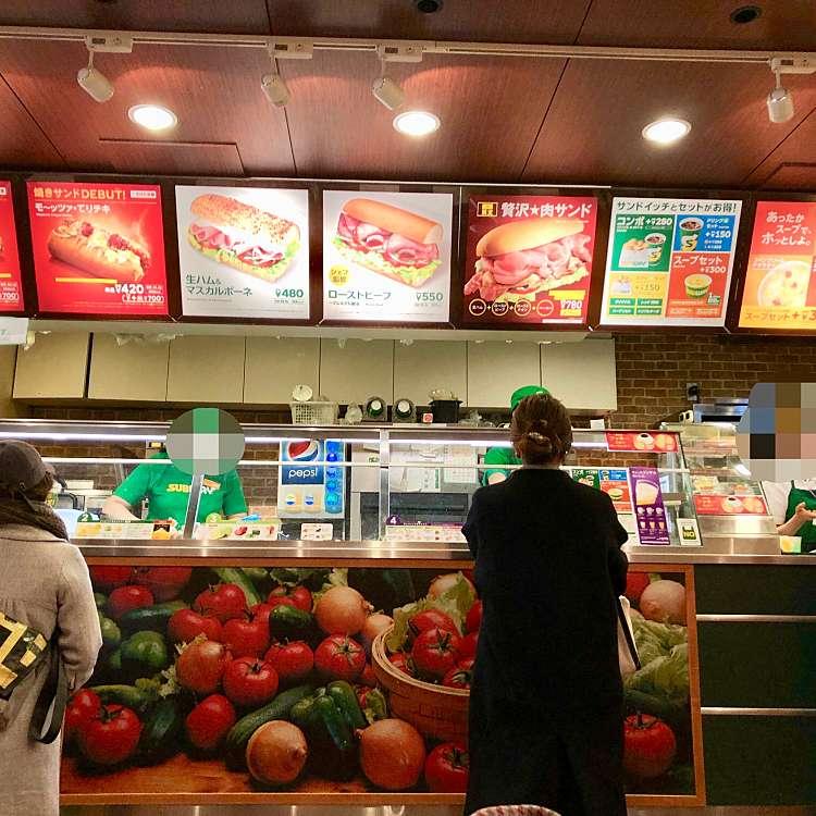 実際訪問したユーザーが直接撮影して投稿した新宿サンドイッチサブウェイ 新宿東口店の写真
