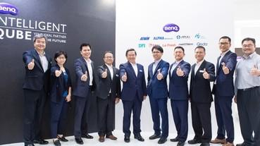 Computex 2019:BenQ 聯合艦隊以智慧魔方為意象,展示 AIoT 企業多元創新解決方案