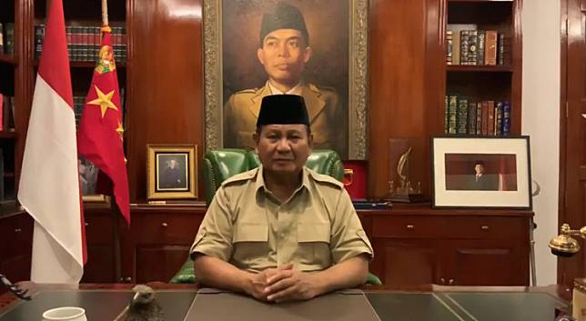 Losing presidential candidate Prabowo Subianto asks his supporters to trust the Constitutional Court as the decision must be faced with
