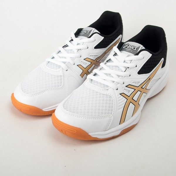#Asics #現貨 #Asics排球鞋 #Asics羽球鞋 #排球鞋 #羽球鞋 品名: Upcourt 3特點: 亞瑟士 室內 避震包覆 透氣 球鞋 粉 藍*排球鞋。*重量:約235克*材質:合成纖