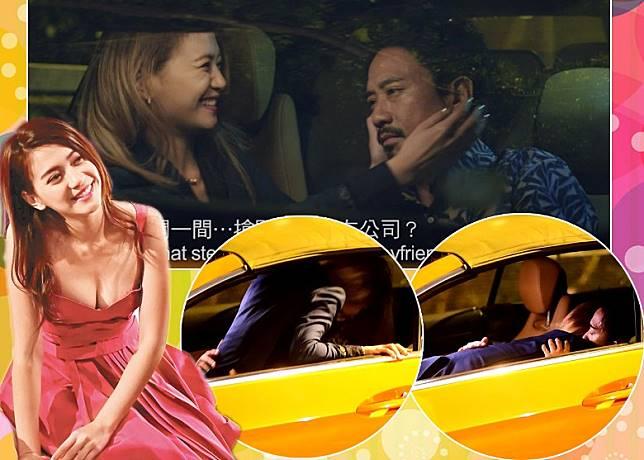 郭偉亮同陳嘉莉重遇。