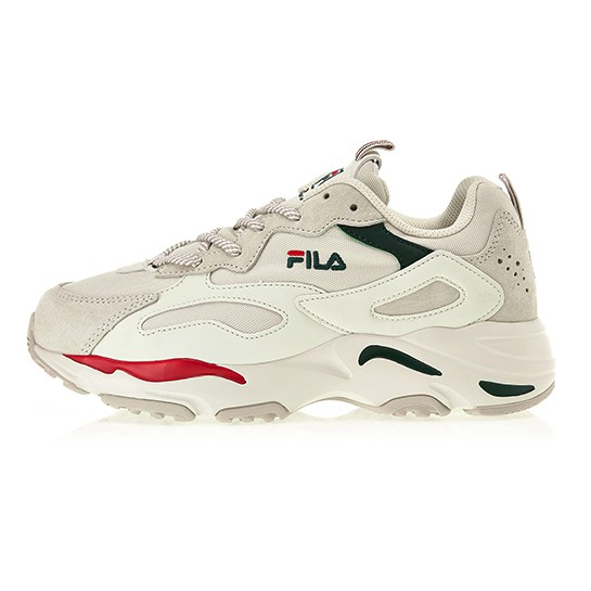 FILA - FS1SIB1460X 韓國限定款 RAY TRACER 復古 老爹鞋 休閒鞋 (卡其x紅綠) 化學原宿