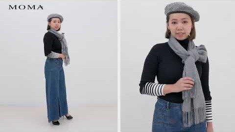 MOMATV|穿搭特輯|5種必備圍巾時尚打法