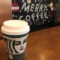 ほうじ茶ティーラテTall - 実際訪問したユーザーが直接撮影して投稿した西新宿カフェスターバックスコーヒー 新宿三井ビル店の写真のメニュー情報