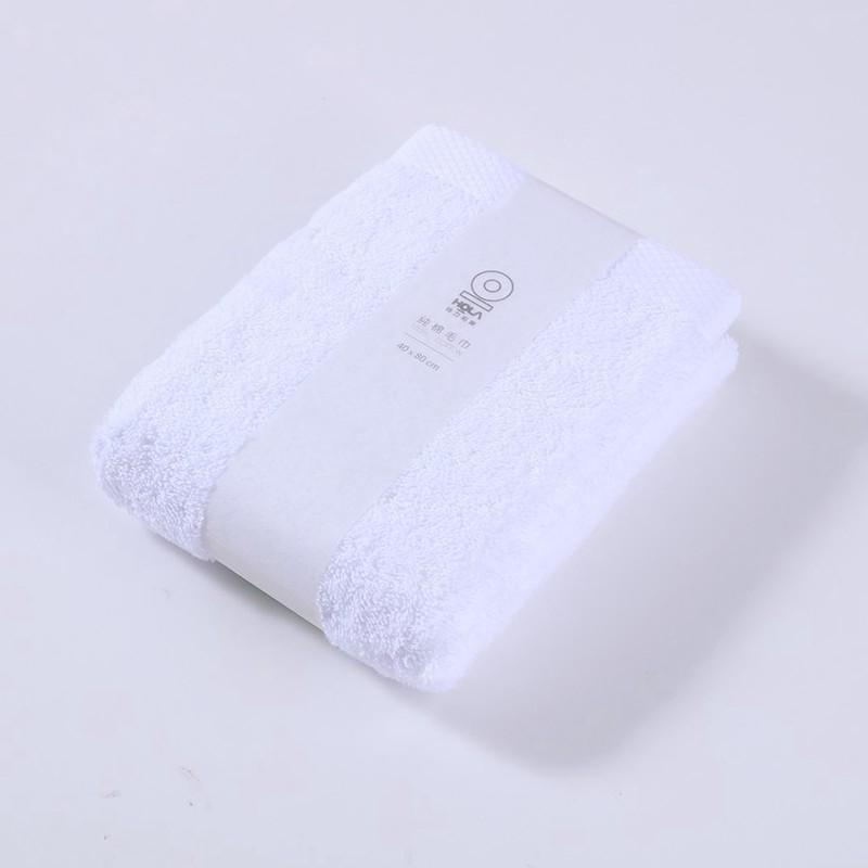 HOLA 土耳其純棉毛巾白40X80cm